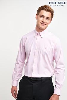 Chemise Ralph Lauren Polo Golf rayée rose
