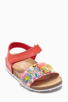 Embroidered Sandals (Younger)