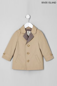 River Island Stone Mac Jacket