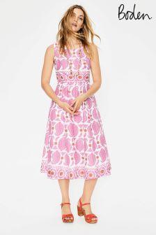 Boden Pink Lizzie Dress