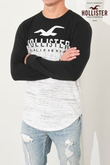 Hollister Colourblock Long Sleeve T-Shirt