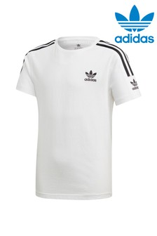 adidas Originals White Lock Up T-Shirt