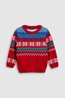 Fairisle Pattern Jumper (3mths-6yrs)