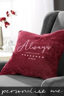 Personalised Couples Cushion