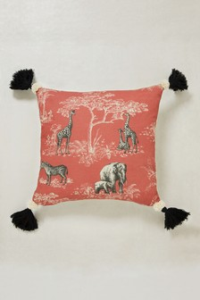 Safari Tassel Cushion