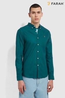 Farah Green Brewer Shirt