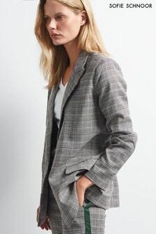 Sofie Schnoor Grey Check Blazer