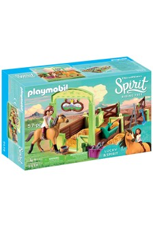 Playmobil® DreamWorks Spirit 9478 Horse Box Lucky And Spirit