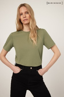 Warehouse Green Casual Fit T-Shirt