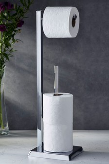 Jewel Toilet Roll Stand