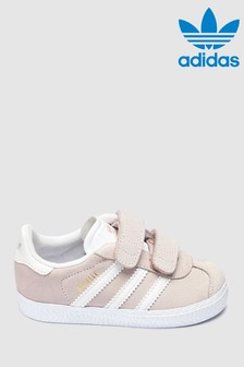 adidas Originals Pink Gazelle Infant Trainers