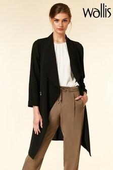 Wallis Black Daisy Duster Jacket