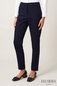 Hobbs Blue Summer Gael Trouser