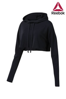 Reebok Black Dance Cropped Hoody