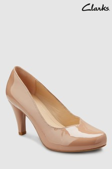 Clarks Patent Dalia Rose Court Shoe