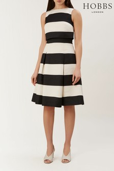 Hobbs Black Emma Dress