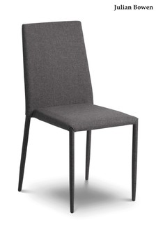 Set Of 2 Julian Bowen Jazz Dining Chairs