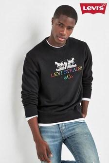 Levi's® Black 90's Logo Sweater