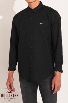 Hollister Black Oxford Shirt