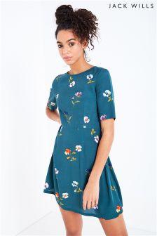Jack Wills Elvington Floral Tea Dress