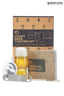 Beer Hawk Craft Beer Tasting Kit Gift Box