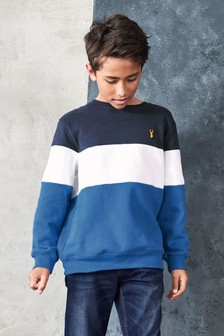 Colourblock Sweat Top (3-16yrs)