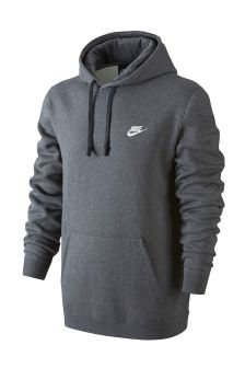 Nike Club Kapuzensweatshirt, anthrazit