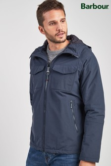 Barbour® Navy Harlech Jacket