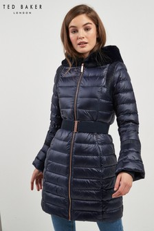 Ted Baker Blue Padded Coat