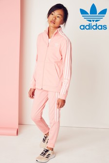 adidas Originals Pink Lock Up Joggers