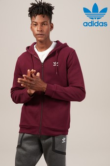 adidas Originals Trefoil Zip Through Hoody