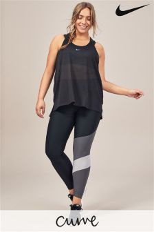 Nike Black/Grey Power Training Tight