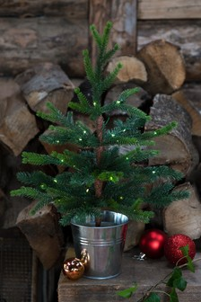 Lit Table Top Christmas Tree