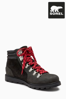 Sorel® Black Suede Leather Ainsley Conquest Walker Boot