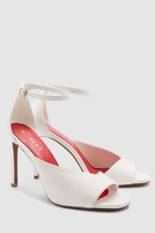Asymmetric Two Part Sandals