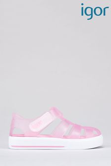 Igor Pink Star Sandals