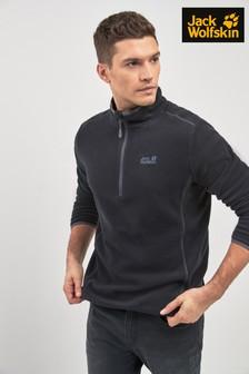 Jack Wolfskin Ski Echo Mid Layer 1/4 Zip