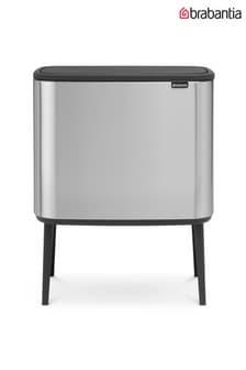 Brabantia® Bo Touch Fingerprint Proof Matt Steel Bin