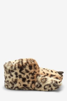 Faux Fur Claw Slippers (Older)