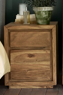 Everett 2 Drawer Bedside Table