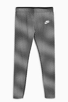 Nike Black Printed Legging