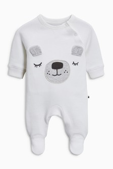 Bear Sleepsuit (0-18mths)