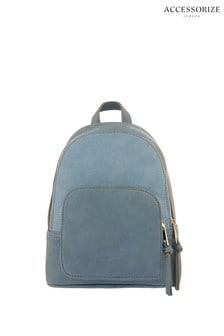 Accessorize Blue Theo Midi Backpack