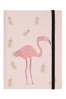 Fenella Smith Flamingo And Pineapple Notebook