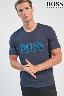 BOSS Navy Urban Logo T-Shirt