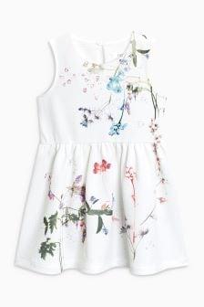 Floral Ponte Dress (3mths-6yrs)