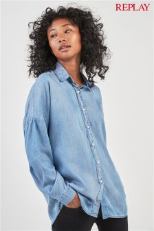 Replay® Soft Touch Denim Shirt