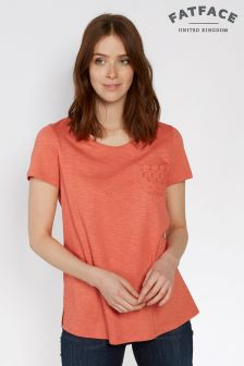 FatFace Coral Frida Broderie Back Tee