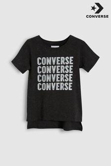 Converse Black Logo Tee