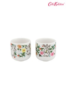 Set of 2 Cath Kidston® Bunny Meadow Egg Cups